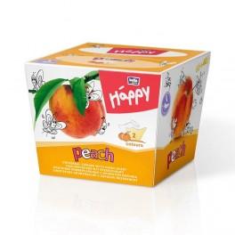 Chusteczki uniwersalne dwukolorowe Happy brzoskwinia 80szt