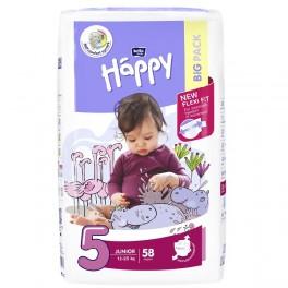 Pieluszki Bella Baby Happy Junior (5) 12-25 kg - 58szt. BIG PACK