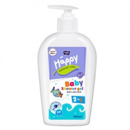 Bella Baby Happy NATURAL CARE żel do ciała i włosów 2w1 300 ml