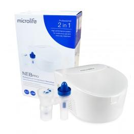 Microlife Inhalator pneumatyczno-tłokowy NEB Pro + irygator zatok