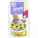 Pieluszki Bella Baby Happy Maxi Plus (4+) 9-20 kg- 62 szt. BIG PACK