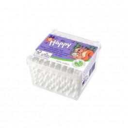 Patyczki higieniczne Bella Baby Happy, papierowe 56+8 szt.